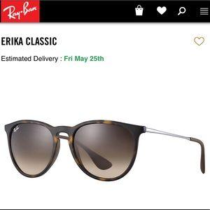Erika Ray-Ban Tortoise Shell Sunglasses